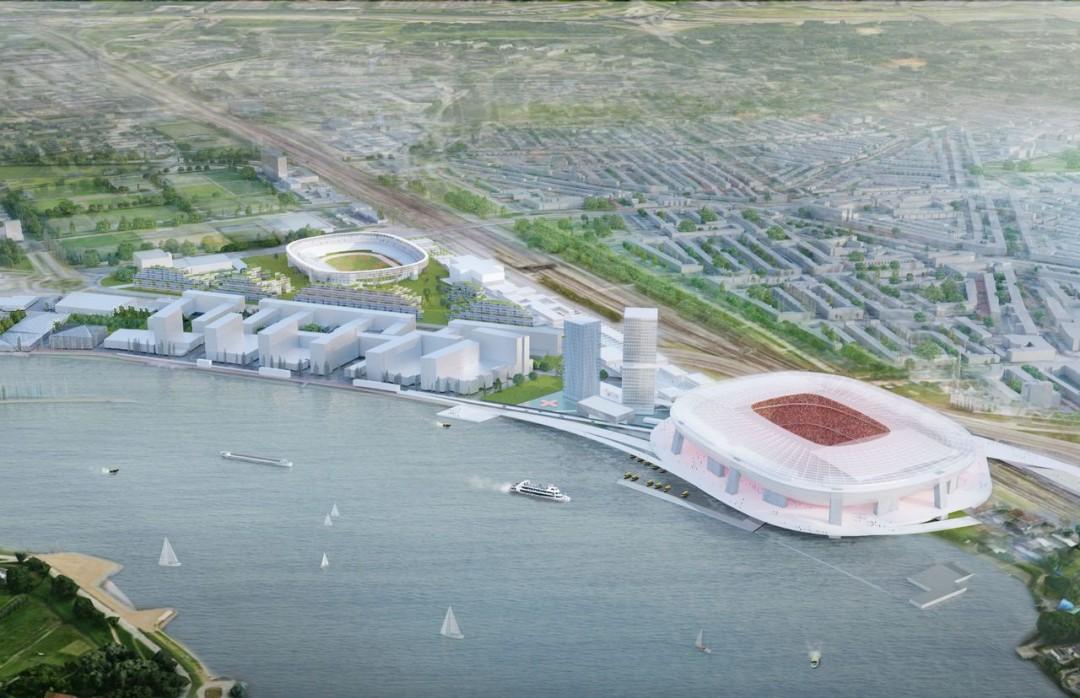 Проект нового стадиона Фейеноорда