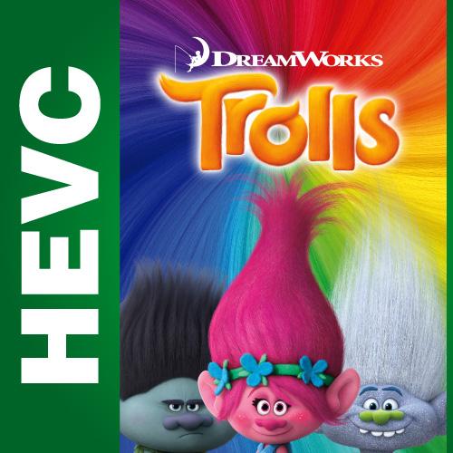 Тролли / Trolls (2016) BDRip HEVC 1080p | Лицензия