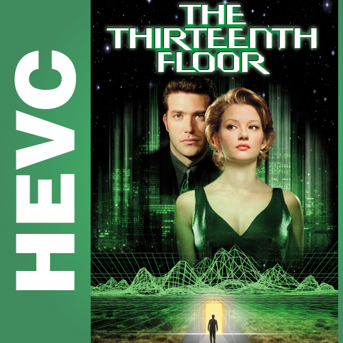 Тринадцатый этаж / The Thirteenth Floor (1999) BDRip 720p HEVC | D