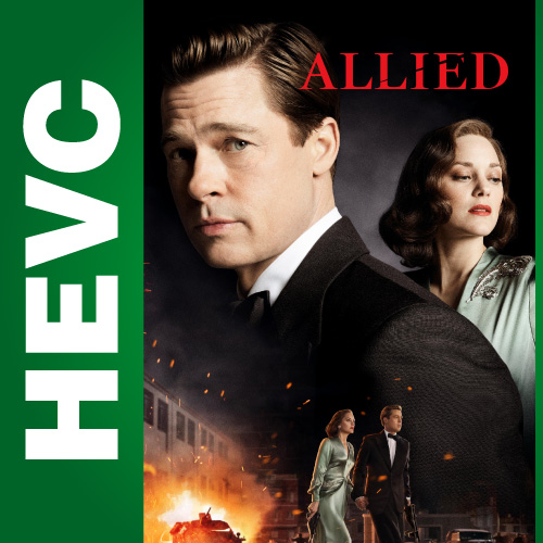 Союзники / Allied (2016) BDRip-HEVC 1080p | Лицензия