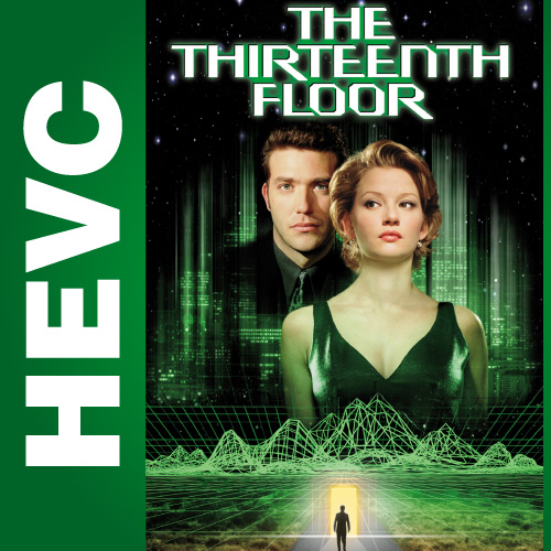 Тринадцатый этаж / The Thirteenth Floor (1999) BDRip 1080p HEVC | D