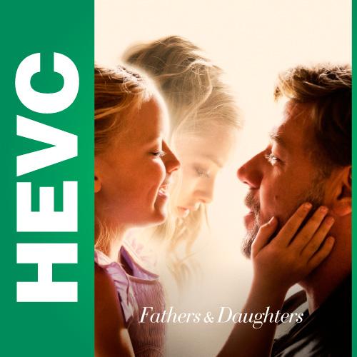 Отцы и дочери / Fathers and Daughters (2015) BDRip-HEVC 720p от HEVC CLUB | iTunes