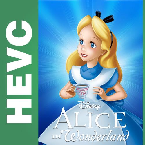 Алиса в стране чудес / Alice in Wonderland (1951) BDRip-HEVC 720p от HEVC CLUB | D