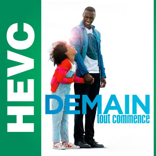 2+1 / Demain tout commence (2016) BDRip-HEVC 720p от HEVC CLUB | iTunes