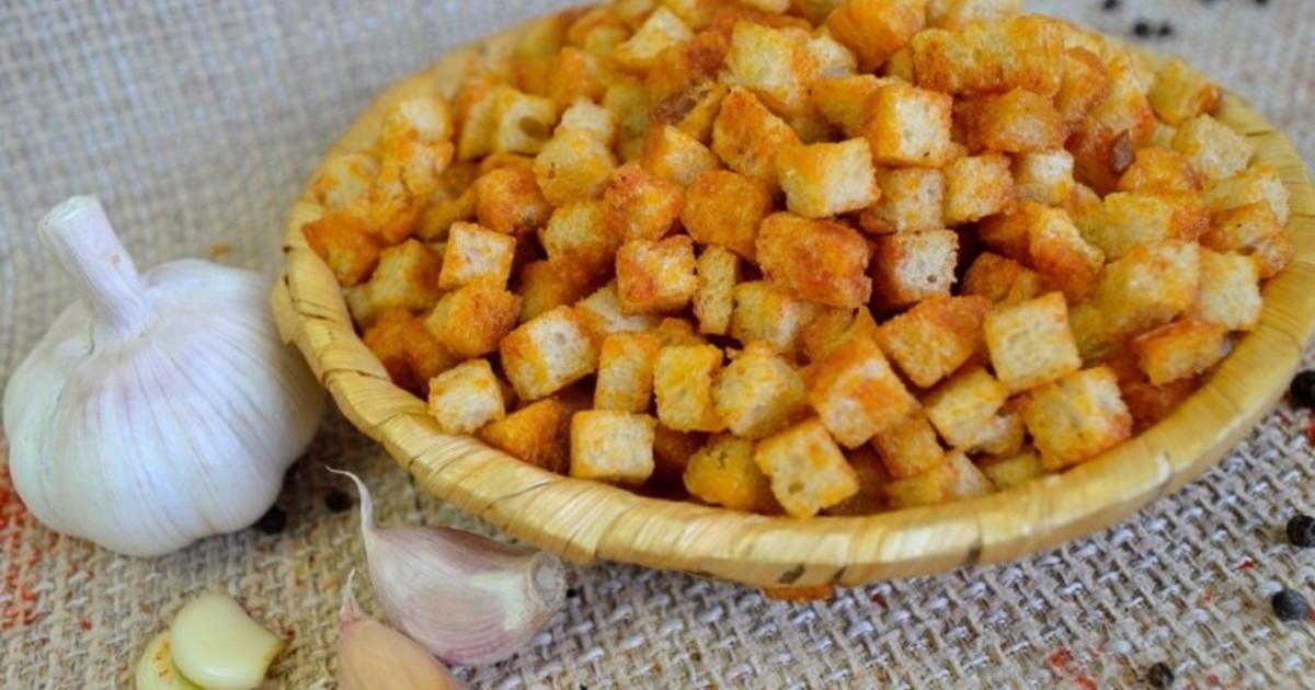 Сухари из батона рецепт пошагово