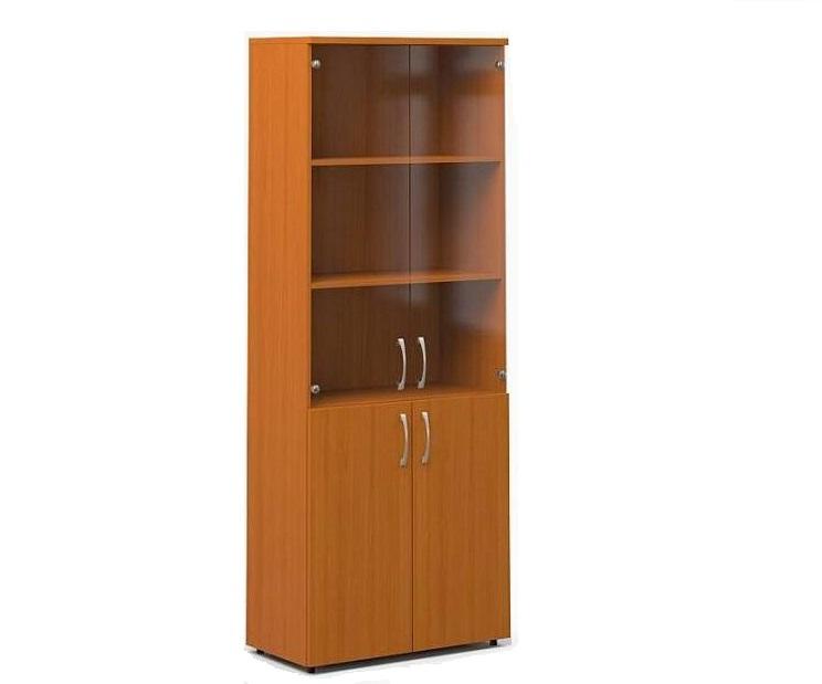 Книжный шкаф со стеклом недорого 450 мм 270 мм.