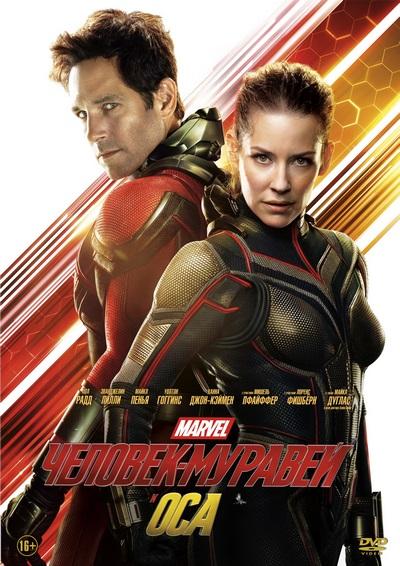 Человек-муравей и Оса / Ant-Man and the Wasp (2018) DVD9 | Лицензия