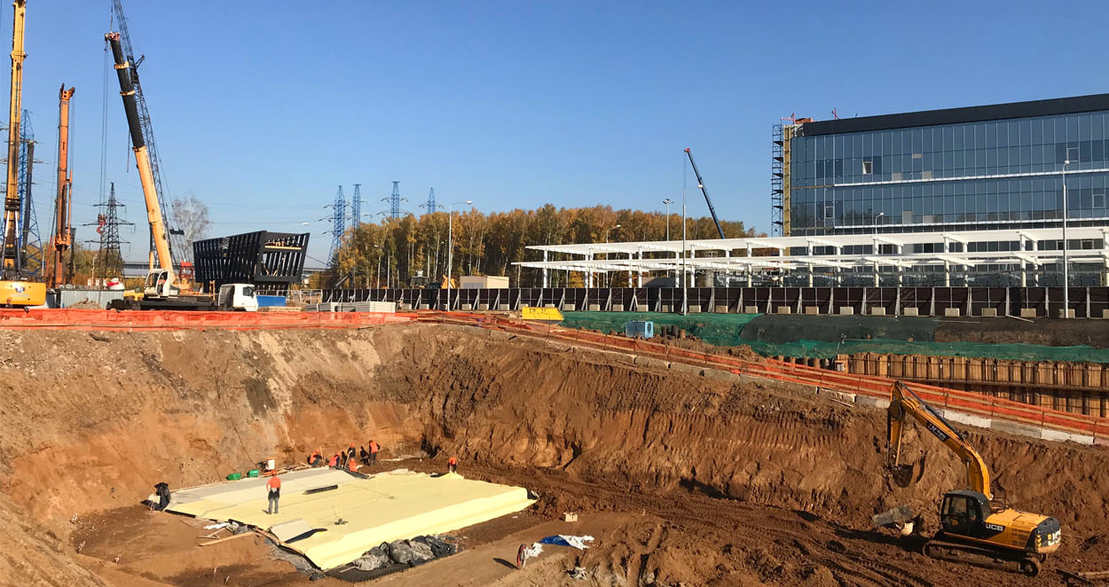 ЖК Дискавери Парк - Ход строительства