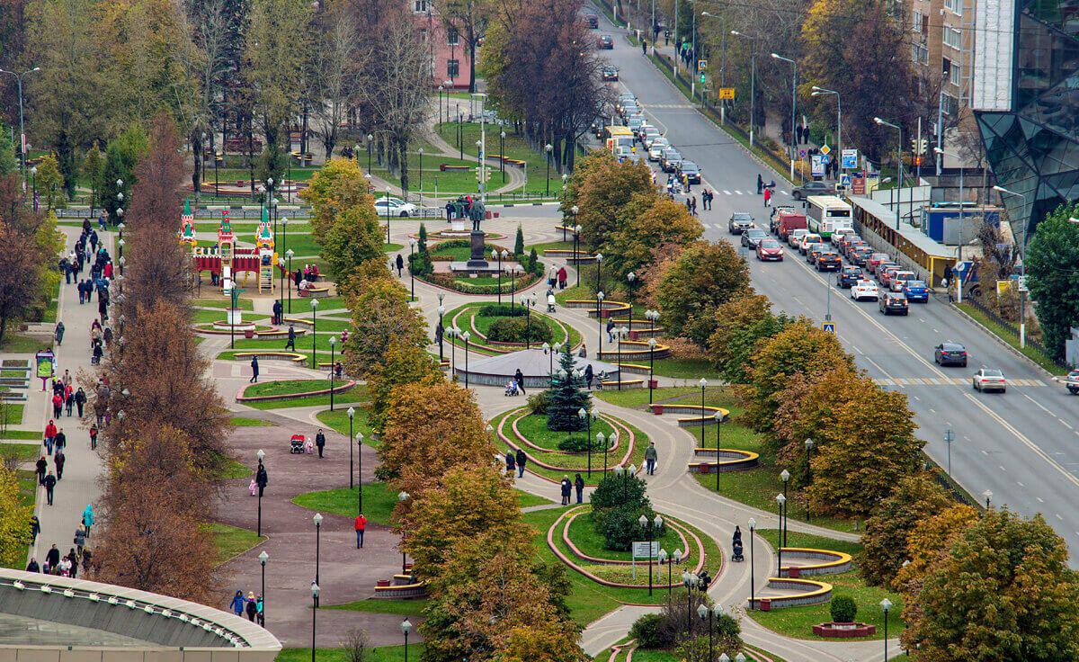 город Железнодорожный - Московская область