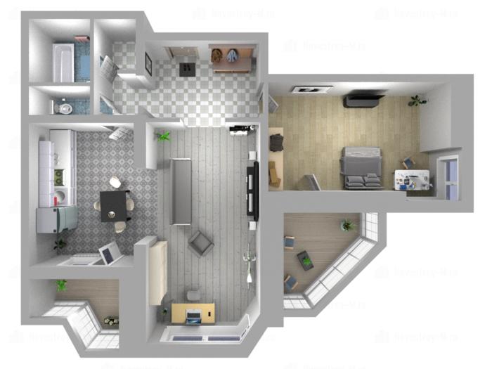 ЖК Центр 2 в Железнодорожном - Планировка квартир