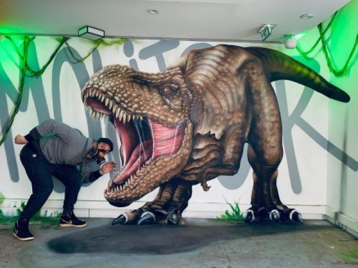 Невероятные трёхмерные работы уличного художника