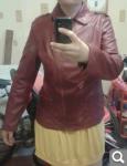 Новая куртка под кожу косоворотка(срочно продам)р.48-50 1813b876c1d96ebc97795d14e1b6d384