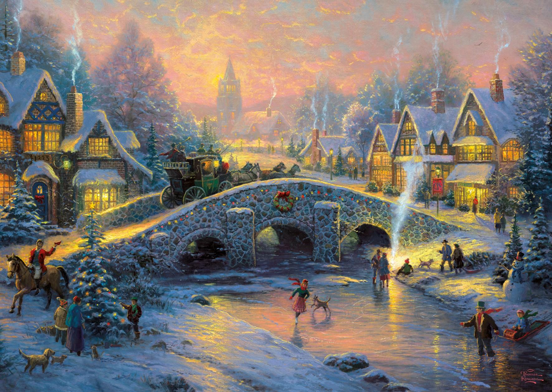 Картинки новогодняя сказка, новым годом