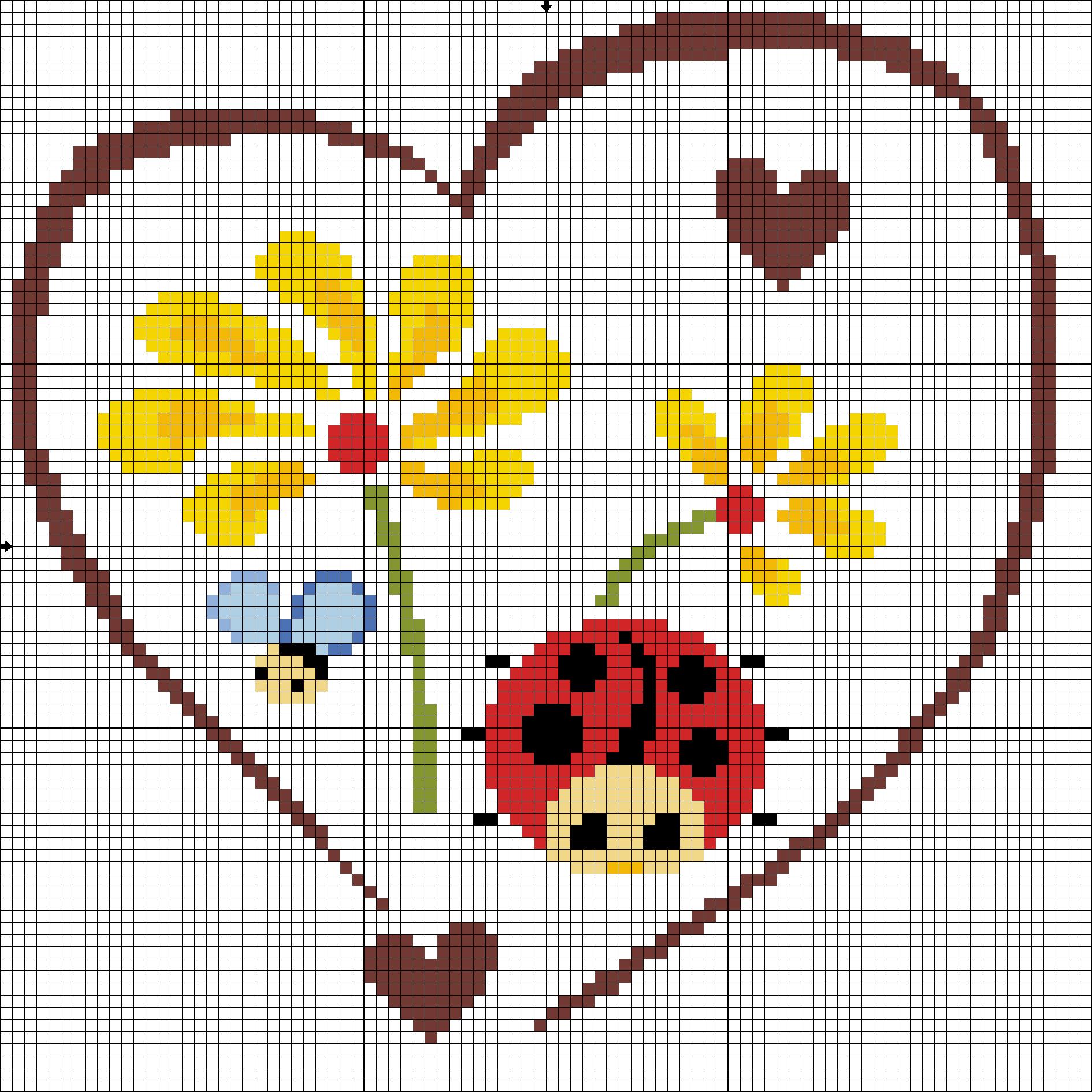 Картинка для вышивки крестом маленькие