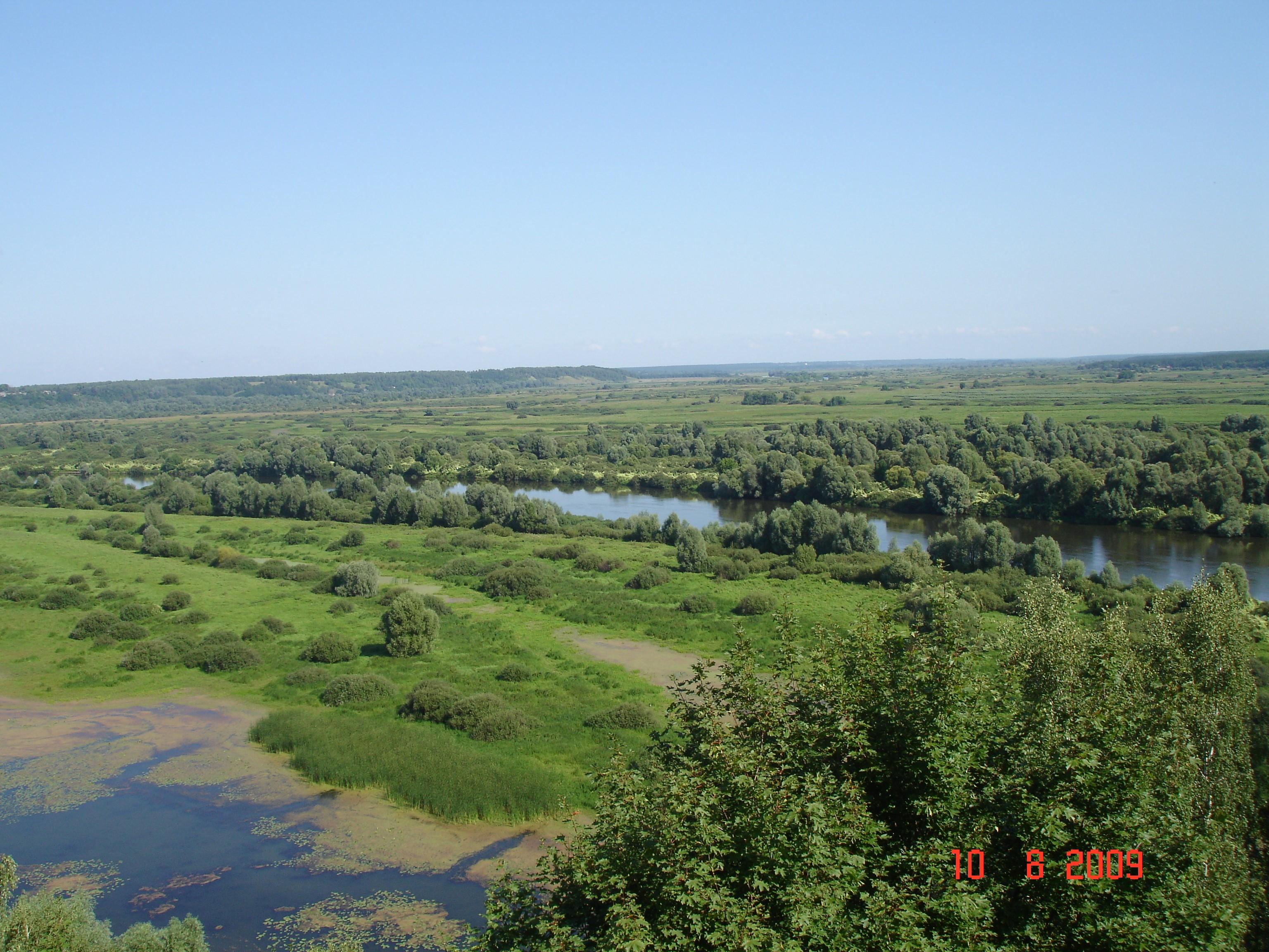 Десна в Новгороді-Сіверському