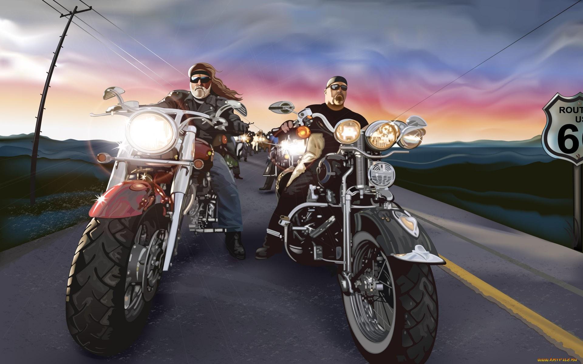 Harley Davidson. На дороге жизни. (Саладини А., Сцимезак П.).