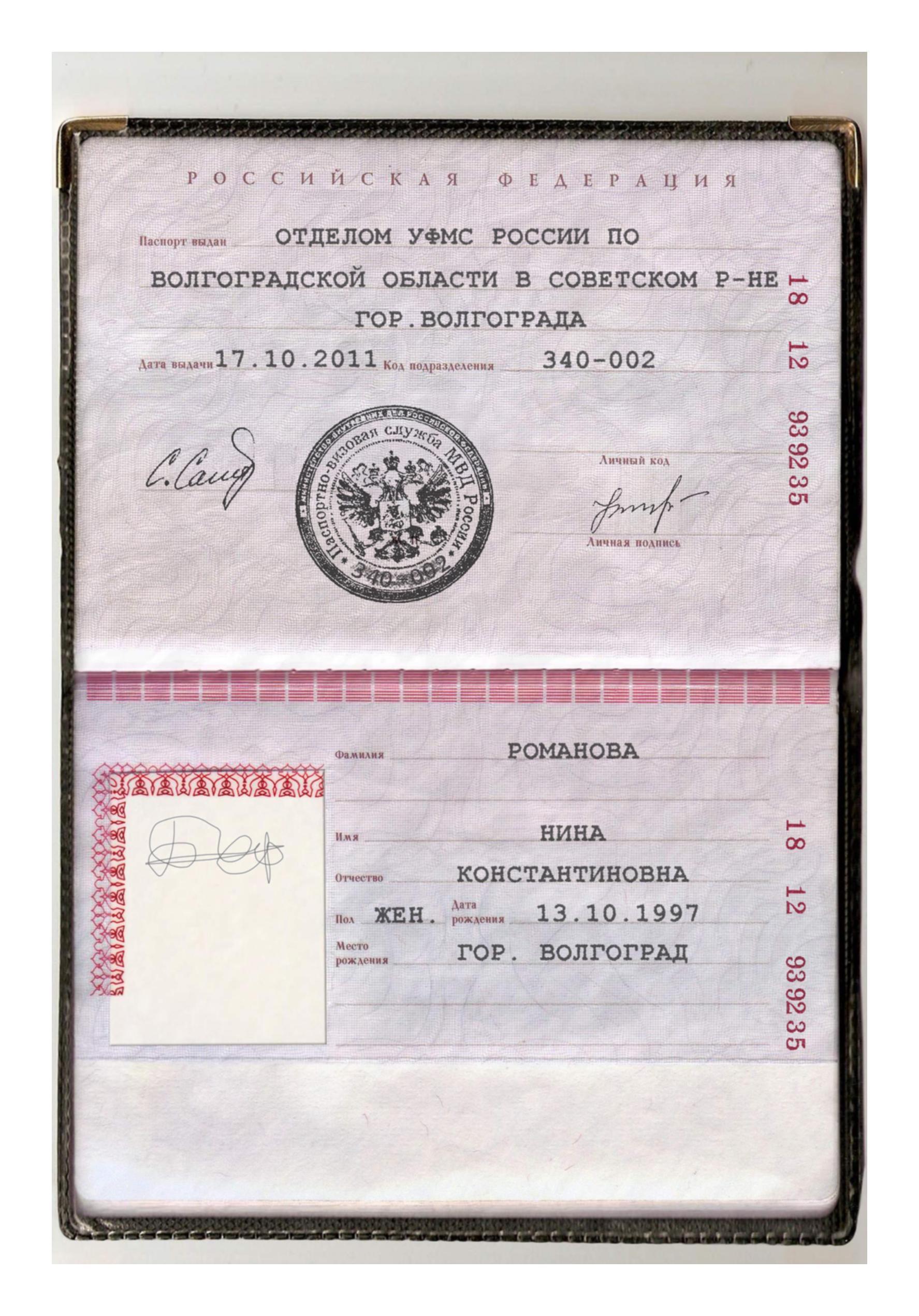 Подделка фото паспорт 8