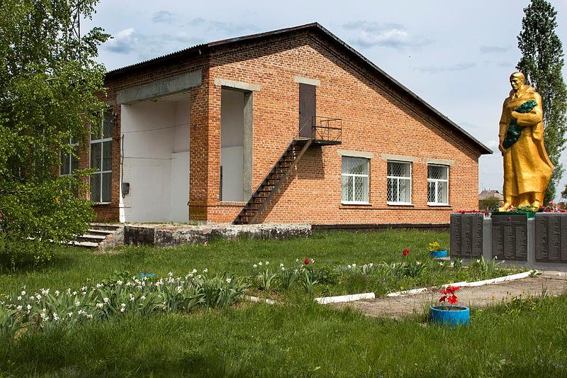 Скромний будинок розкішного історико-археологічного музею у Верхньому Салтові. Фото — Тарас Гордієнко (2015).