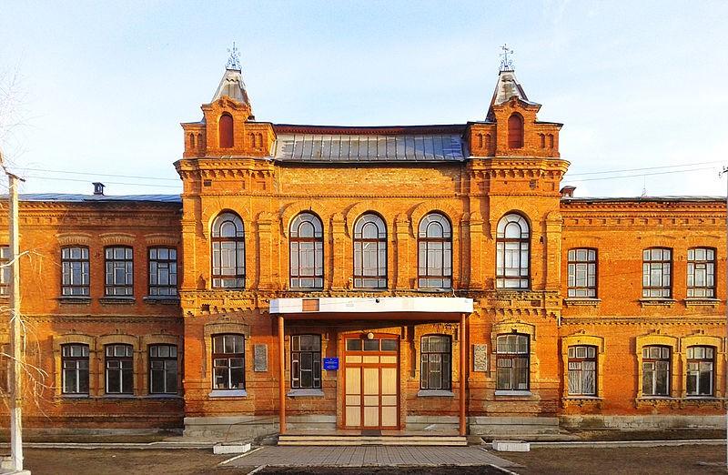 Фото: Будинок Катерининської жіночої гімназії