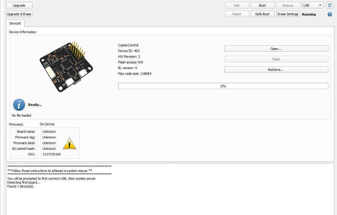 Прошивка CC3D в LibrePilot
