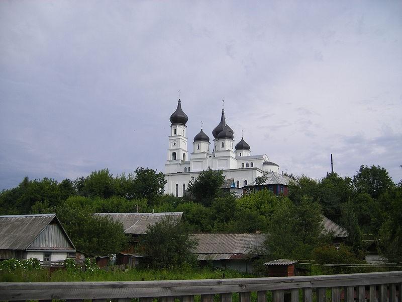 Овруч. Спасо-Преображенський собор