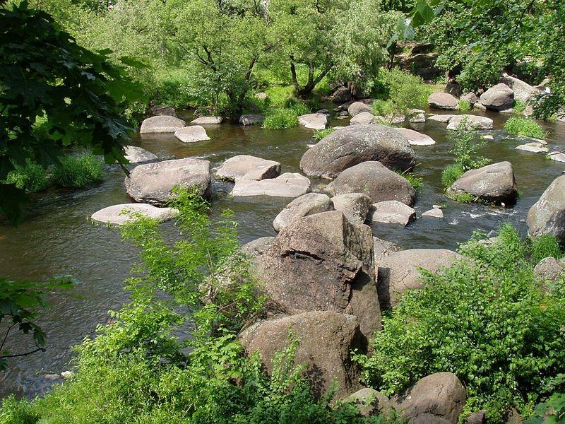 Баранячі лоби на річці Уж
