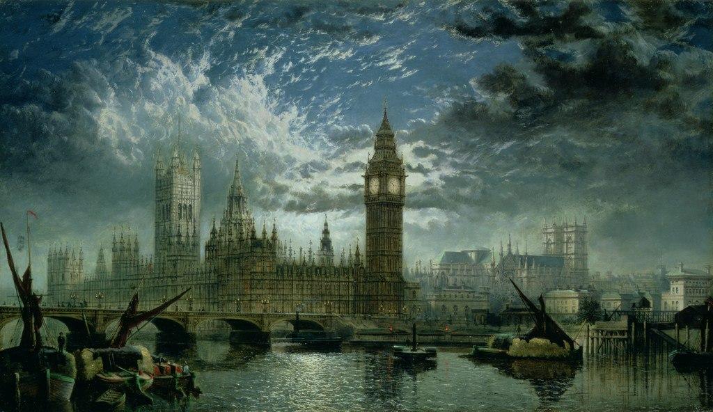 Джон Маквикар Андерсон. Вестминстерский дворец, 1870.jpg