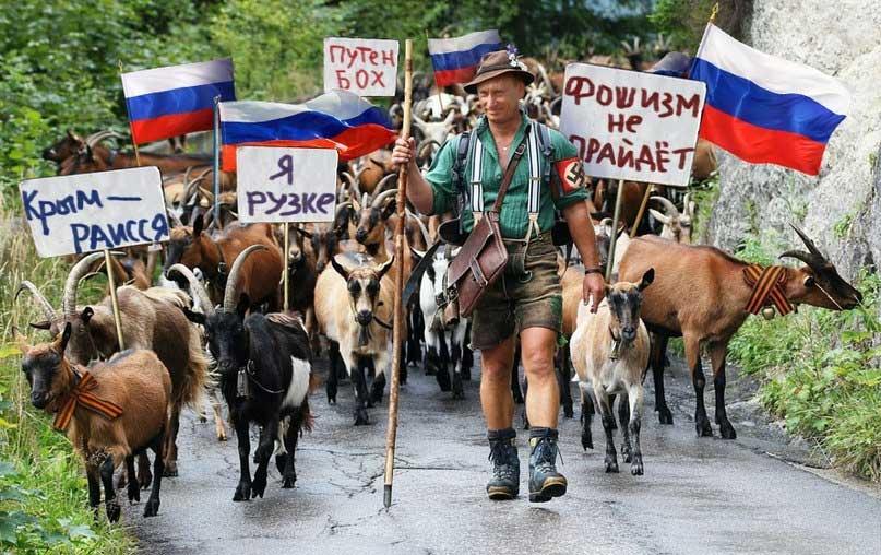 Путин ты самая низкая тварь! Заявление кавказского