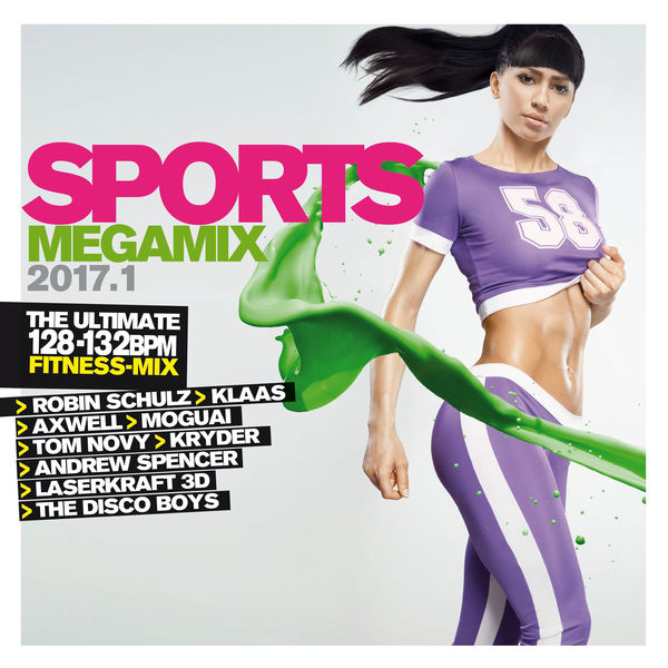 VA - Sports Megamix 2017.1 [3CD] (2017/FLAC)