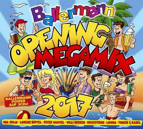 VA - Ballermann Opening Megamix 2017 [3CD] (2017)