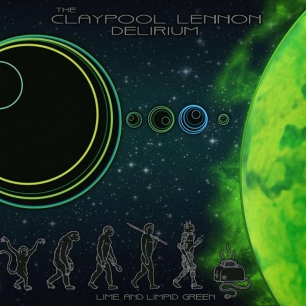 The Claypool Lennon Delirium - Lime And Limpid Green [Vinyl-Rip 24-bit] (2017/FLAC)