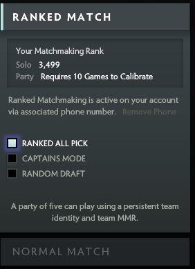Dota 2 ranked matchmaking tbd