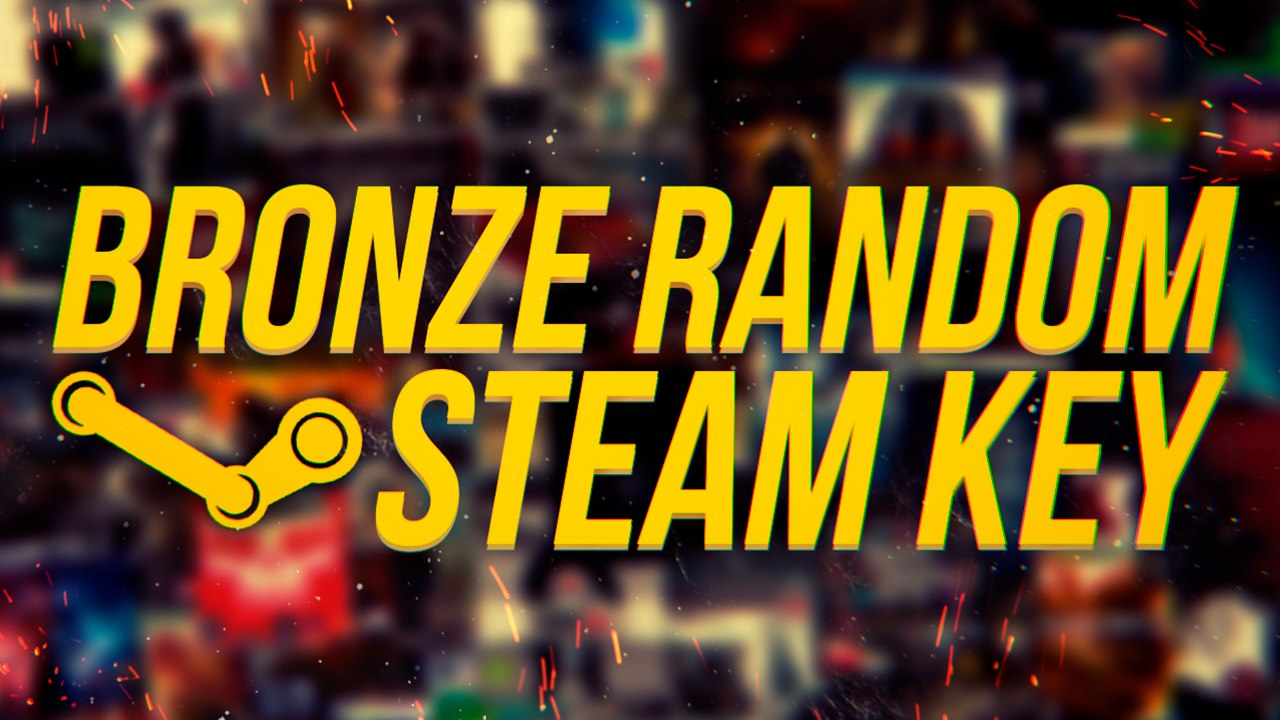 Купить RANDOM STEAM KEY  BRONZE