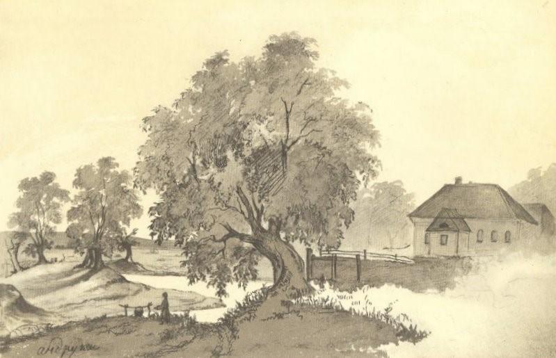 Тарас Шевченко (1845). «Андруші».