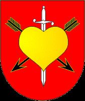 Історичний герб козацького містечка Іркліїв (1745).