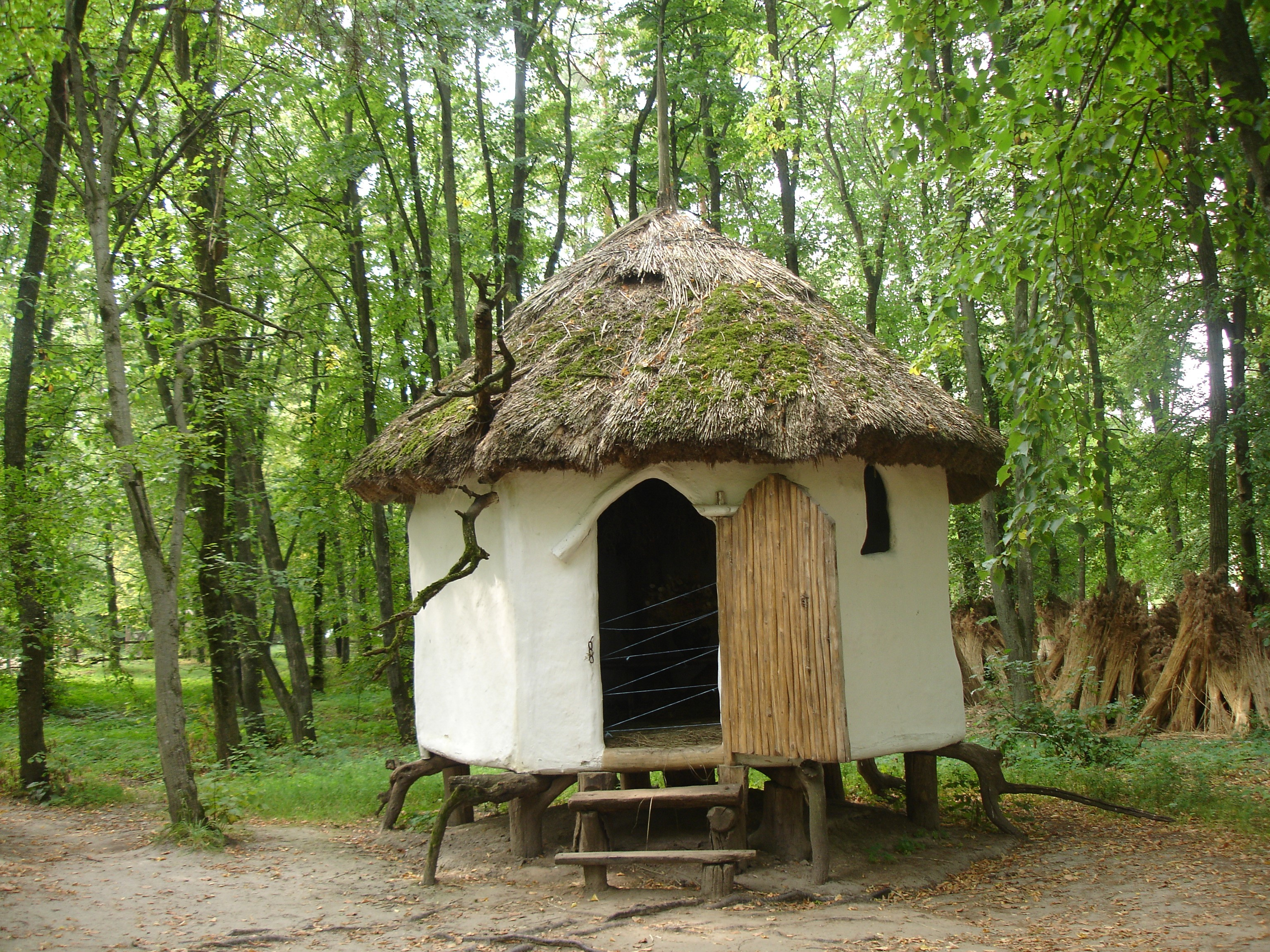 Типи українського житла, представлені в Музеї народної архітектури та побуту Середньої Наддніпрянщини