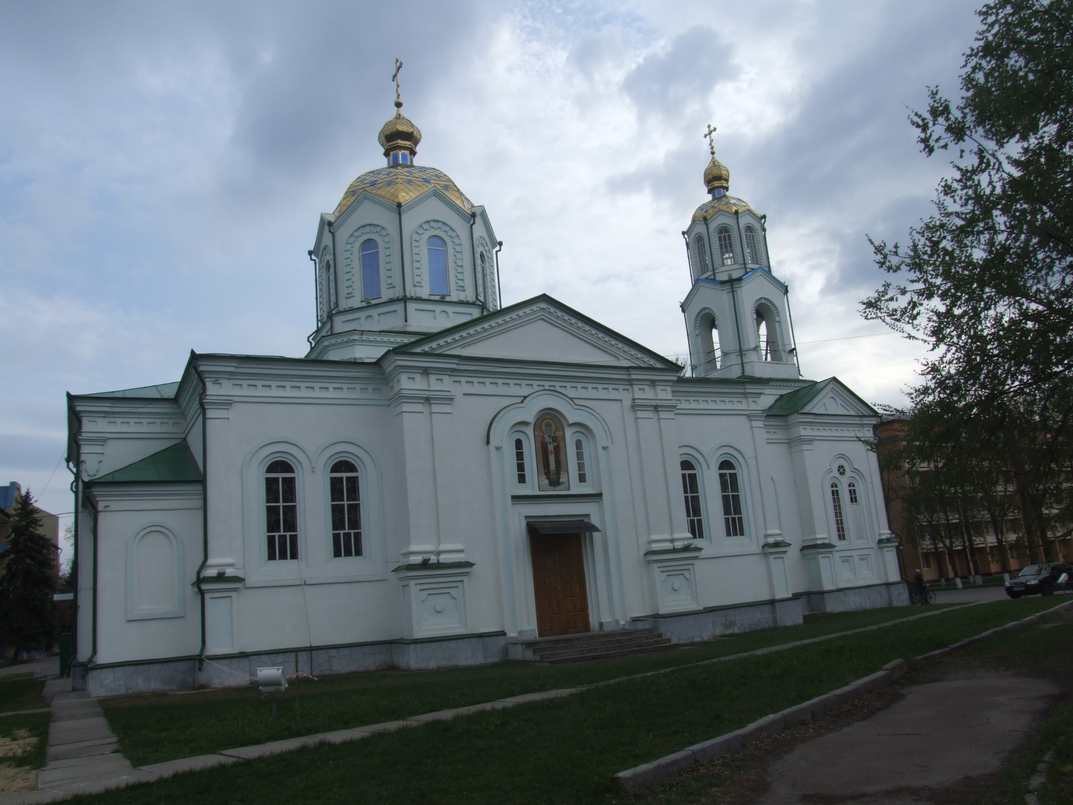 Миргород. Свято-Успенська церква (1887)