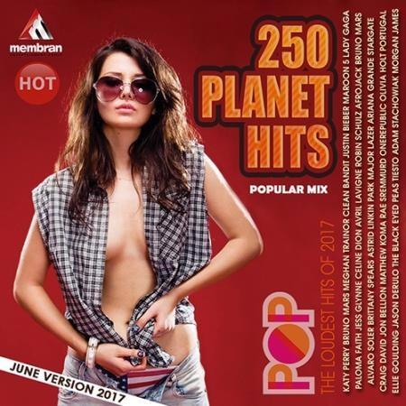 Сборник - 250 Popular Planet Hits (2017)