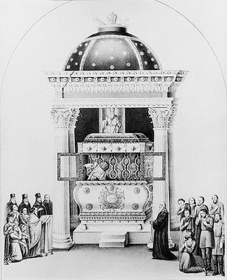 Рака свт. Афанасія Пателарія в Лубенському монастирі