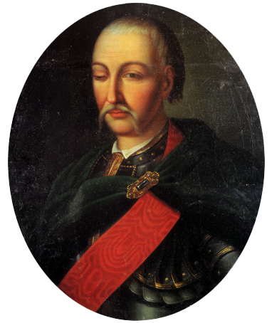 Український гетьман Данило Апостол.