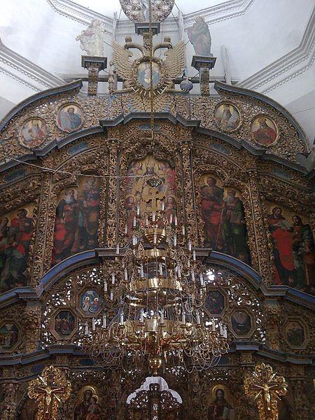 Спасо-Преображенська церква (1732?): іконостас (фрагмент)