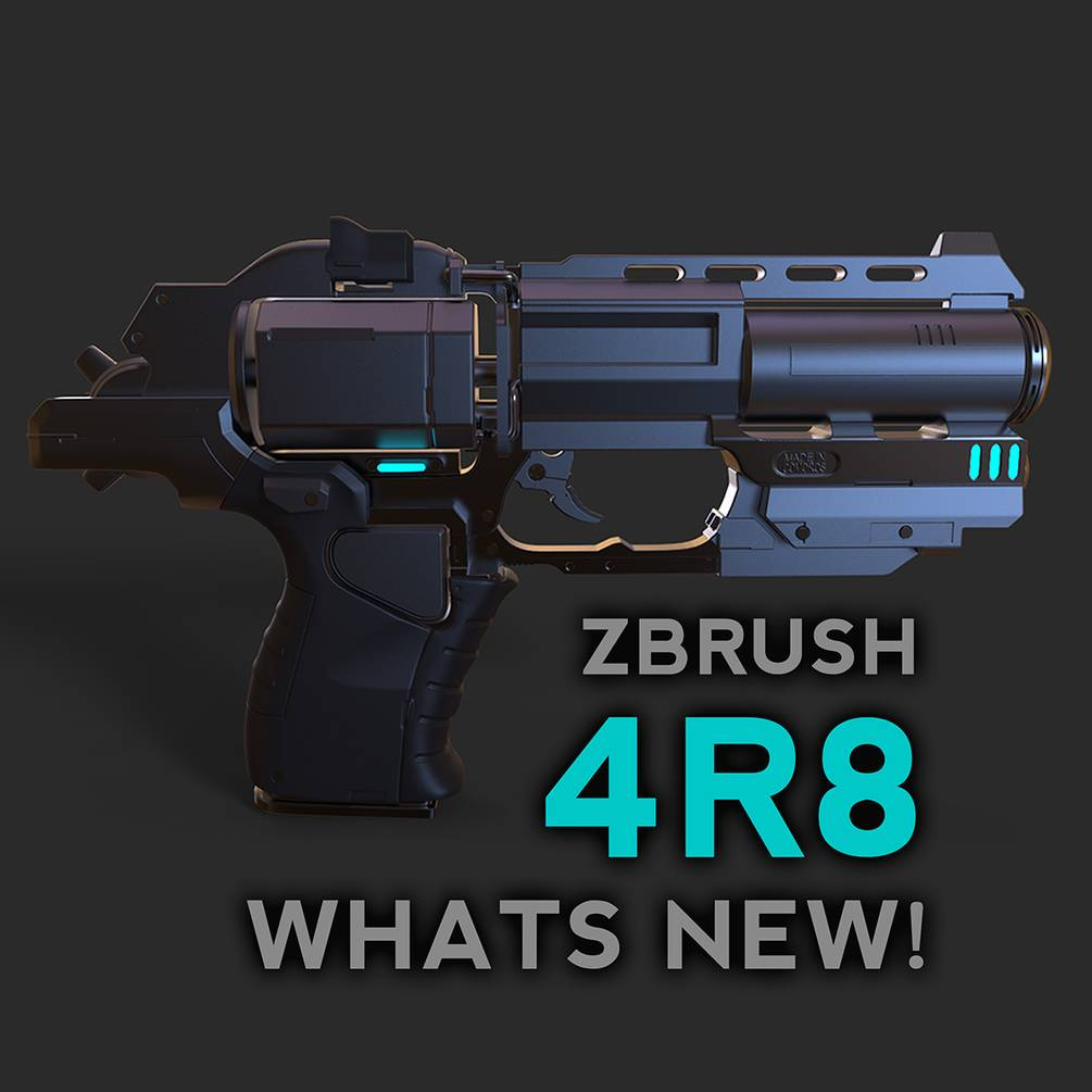 Складчина - [Gumroad] ZBrush 4R8 What's New [ENG-RUS
