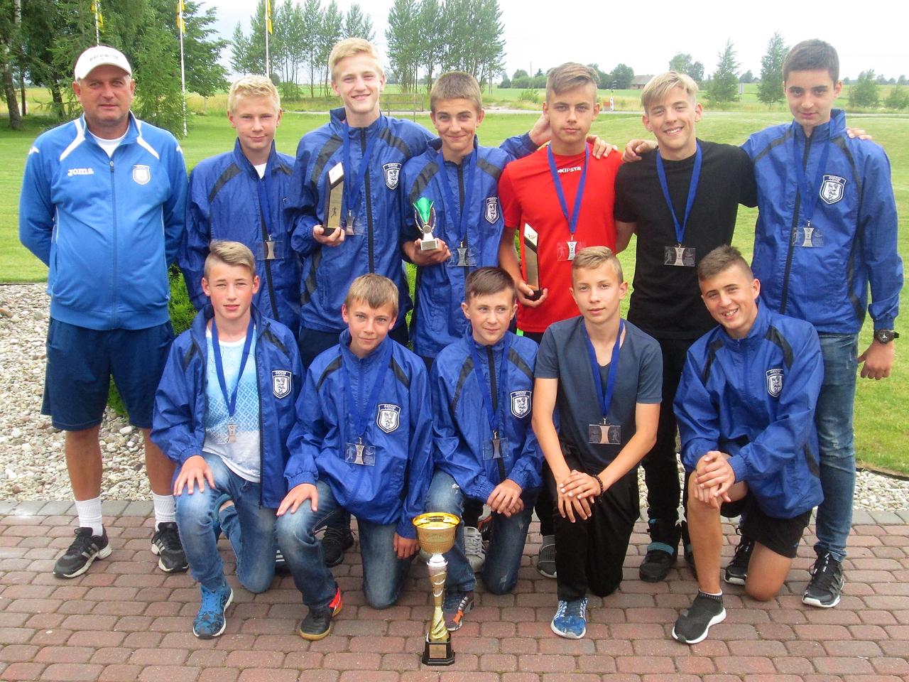 Уманчани стали призерами на міжнародному турнірі з футболу в Литві