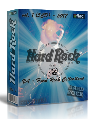 VA - Hard Rock Collections vol. 1 [5CD] (2017/FLAC)