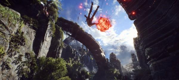 PS4-интерфейс Anthem на канале PlayStation был добавлен поверх видео [Игры]