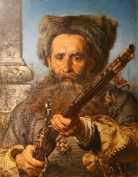 Ян Матейко (1874). «Портрет гетьмана Остафія Дашкевича».