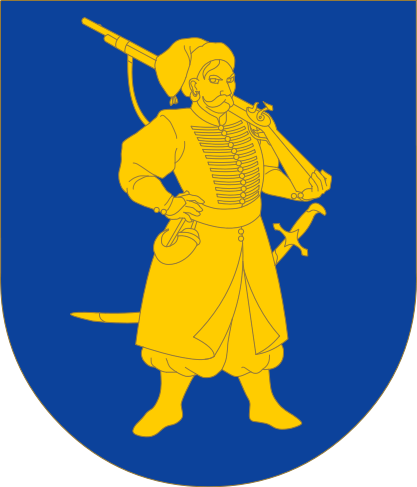 Герб Української козацької держави — Гетьманщини (1648—1764).