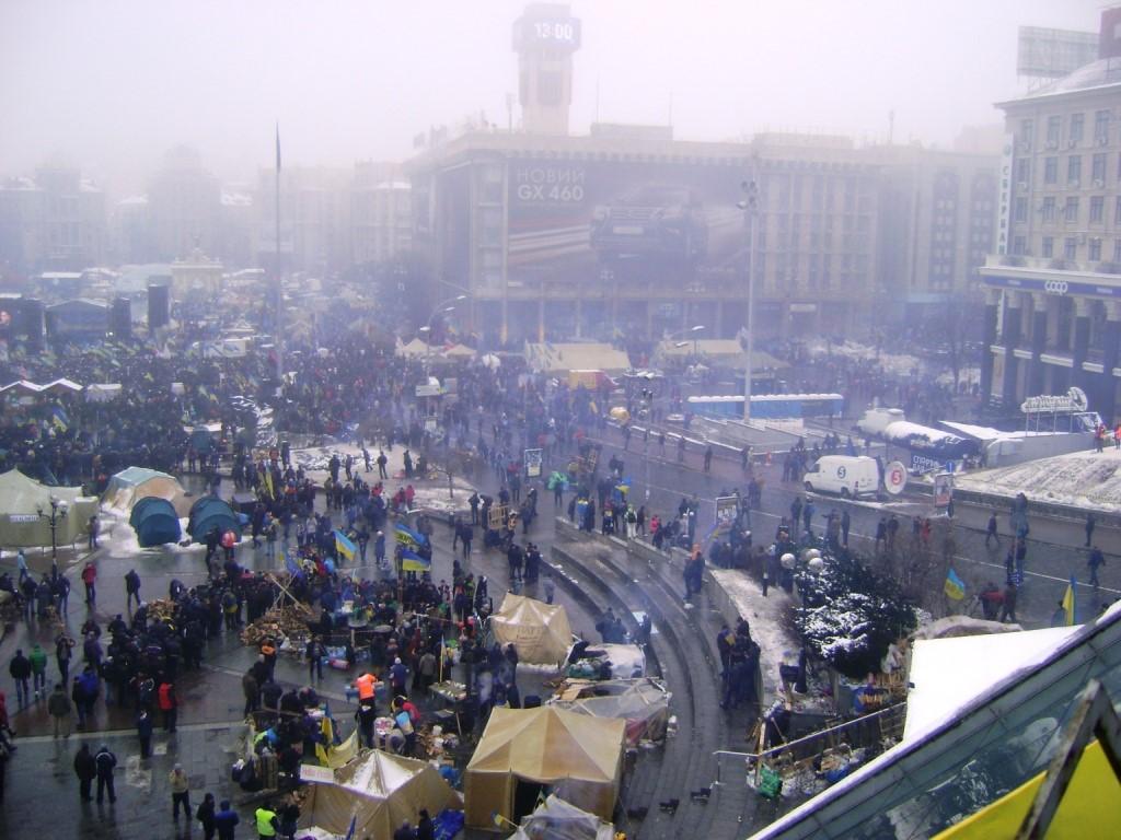 Киев. (начало второй декады декабря 2013 г.).