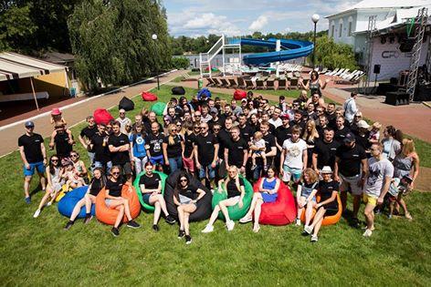 Летний корпоратив компании Crytek Ukraine Hot Sand Summer Party 2017