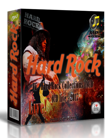 VA - Hard Rock Collections [18CD + 4CD Live] (2017)